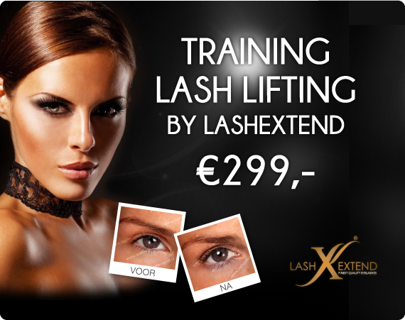 Training Lash lifting - by Lashextend